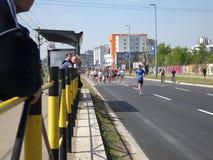 Maratón 6 de Belgrado Foto de archivo libre de regalías