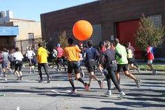 Maratón de 2010 NYC Imagen de archivo libre de regalías