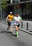 Maratón 2014 de Belgrado imagen de archivo libre de regalías