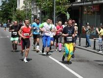 Maratón 2014 de Belgrado fotografía de archivo
