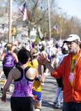 Maratón de Boston imágenes de archivo libres de regalías