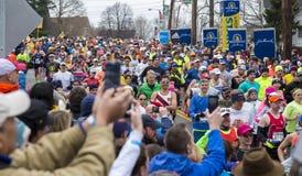 Maratón 2015 de Boston Foto de archivo libre de regalías