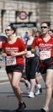 2013, maratón de británicos el 10km Londres Foto de archivo