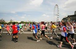 2013, maratón de británicos el 10km Londres Foto de archivo libre de regalías