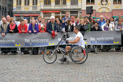 Maratón de Bruselas foto de archivo libre de regalías