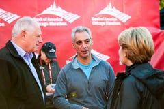 Maratón 2013 de Chicago fotos de archivo libres de regalías