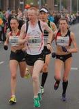 Maratón de Duesseldorf Imagen de archivo libre de regalías