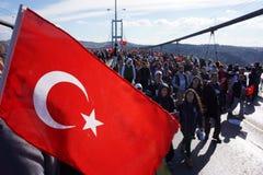 Maratón de Estambul Imágenes de archivo libres de regalías