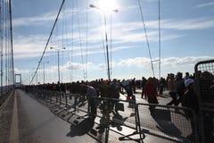 Maratón de Estambul Fotos de archivo