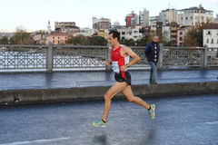 38 Maratón de Estambul Imagenes de archivo