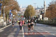 38 Maratón de Estambul Fotos de archivo libres de regalías