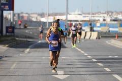 38 Maratón de Estambul Imagen de archivo