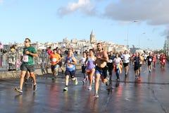 38 Maratón de Estambul Foto de archivo libre de regalías