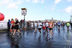 38 Maratón de Estambul Foto de archivo
