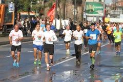38 Maratón de Estambul Imagen de archivo libre de regalías