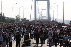 Maratón de Eurasia Fotos de archivo