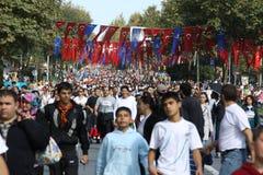 Maratón de Eurasia Foto de archivo libre de regalías