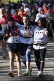 Maratón de ING New York City, acabado de los corredores, Foto de archivo libre de regalías
