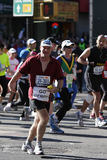 Maratón de ING New York City, corredor Imagen de archivo libre de regalías