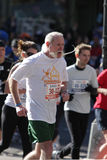 Maratón de ING New York City, corredor Fotos de archivo libres de regalías