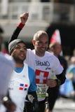 Maratón de ING New York City, corredor de Suiza Fotografía de archivo libre de regalías