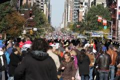 Maratón de ING New York City, Runnes Foto de archivo libre de regalías