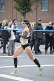 Maratón de Kate Pallardy Runner NYC Fotos de archivo libres de regalías