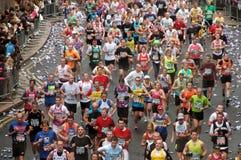 Maratón de la flora de Londres Foto de archivo libre de regalías