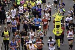 2015, maratón de Londres Imagen de archivo libre de regalías