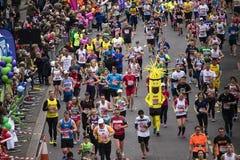 2015, maratón de Londres Fotografía de archivo libre de regalías