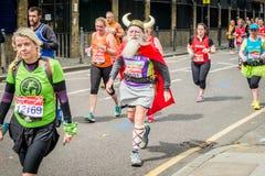 Maratón 2016 de Londres Imágenes de archivo libres de regalías