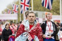 Maratón de Londres del dinero de la Virgen 24 de abril de 2016 Imagenes de archivo