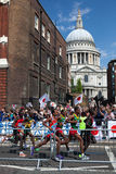 Maratón de los hombres - Olimpiadas 2012 Imagen de archivo libre de regalías