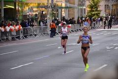 Maratón 2016 de New York City Foto de archivo libre de regalías