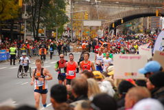 Maratón 2013 de NYC Imagen de archivo