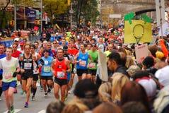 Maratón 2013 de NYC Imágenes de archivo libres de regalías