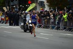 Maratón de 2017 NYC - Jared Ward Mens Elite foto de archivo libre de regalías