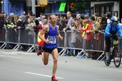 Maratón de 2017 NYC - Jared Ward Mens Elite fotos de archivo