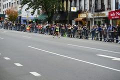 Maratón de 2017 NYC - mujeres Foto de archivo