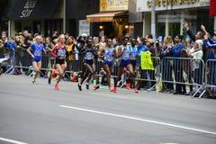 Maratón de 2017 NYC - mujeres de la élite Imagen de archivo