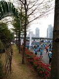 Maratón 2014 de Shenzhen foto de archivo