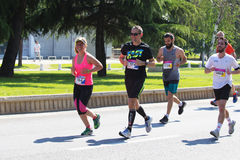 Maratón 2016 de Skopje Fotos de archivo libres de regalías