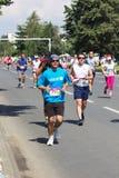 Maratón 2016 de Skopje Imagenes de archivo