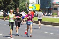 Maratón 2016 de Skopje Fotografía de archivo