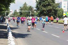 Maratón 2016 de Skopje Imagen de archivo
