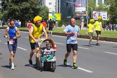 Maratón 2016 de Skopje Foto de archivo