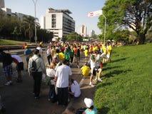 Maratón de Streert Fotografía de archivo