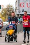 Maratón 2016 de Varsovia fotografía de archivo libre de regalías