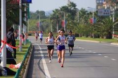 Maratón de Xiamen Fotos de archivo libres de regalías