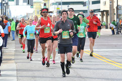 Maratón 2014 del trébol Imagen de archivo